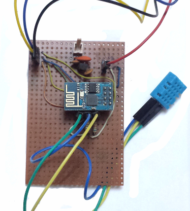 IoT Project Temperature And Humidity Logger Using ESP8266